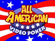 Знаменитый игровой аппарат All American Poker онлайн